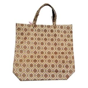 Vintage Fabric Tote Bag Shopper New Old Stock